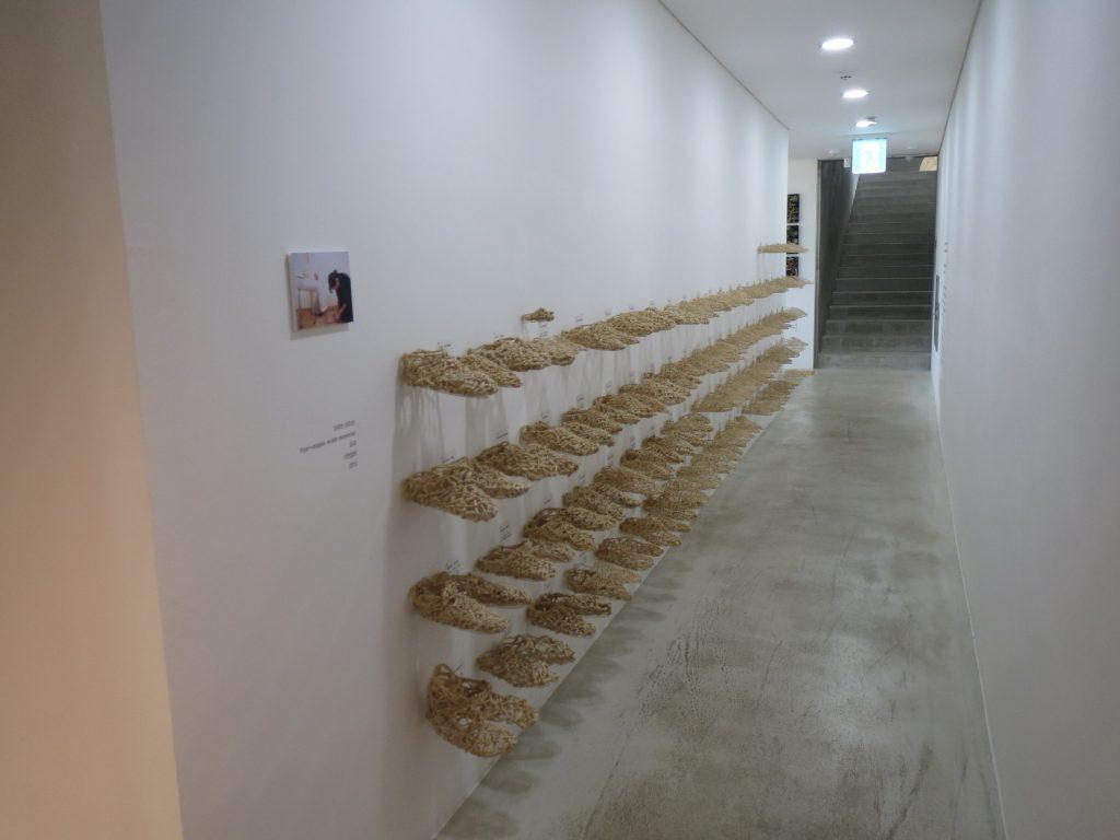 HOPE REPORT-記憶する足形 foot-shapes that evoke memories in 2015 at Korea