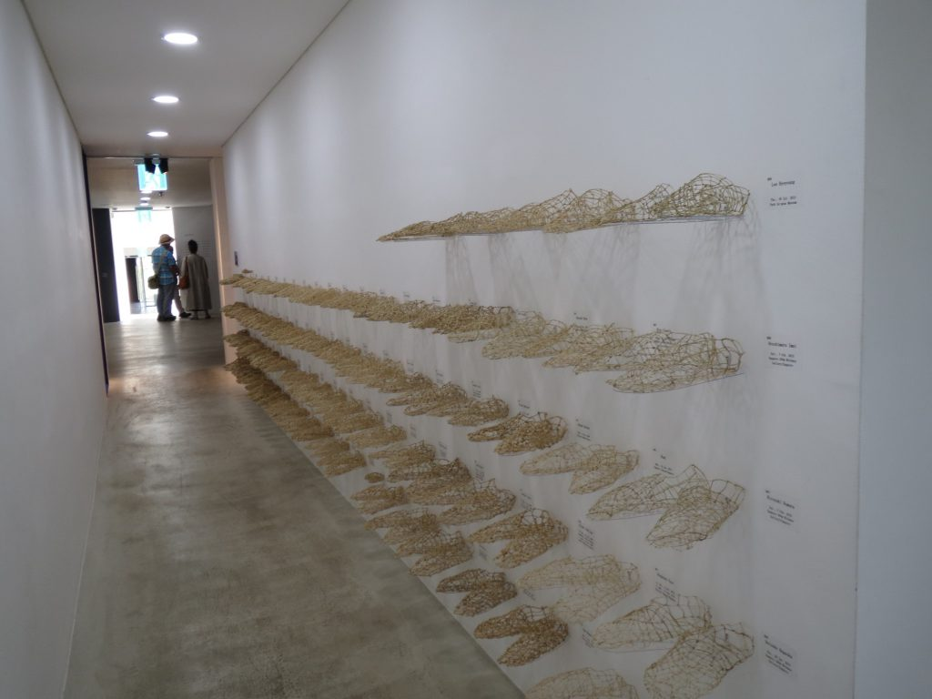 HOPE REPORT-記憶する足形 foot-shapes that evoke memories in 2015 at Korea
