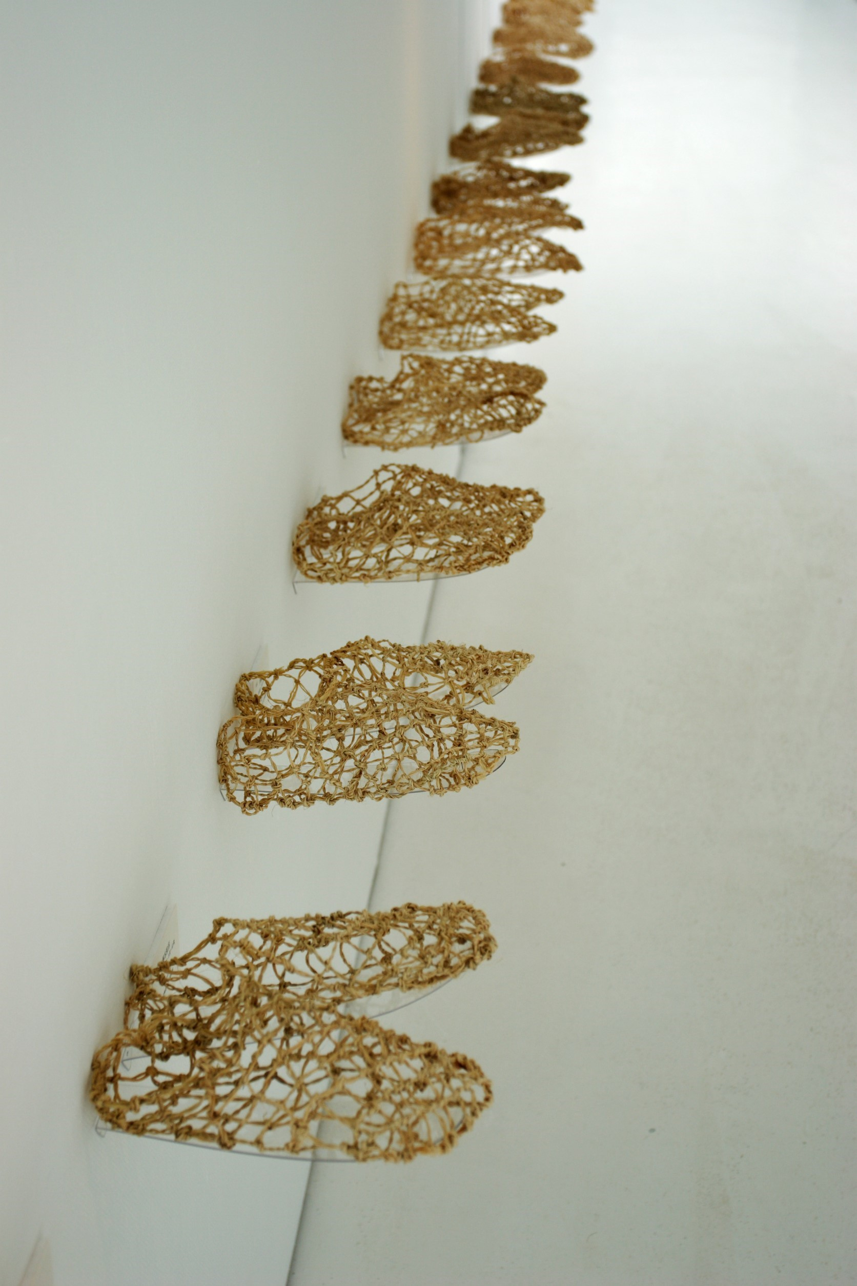 Yoko Tamura Exhibition in 2006-Remember Soleprint-