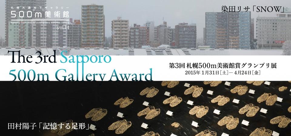 第3回札幌500m美術館賞グランプリ展 2015年
